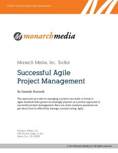 Successful Agile Project Management Toolkit