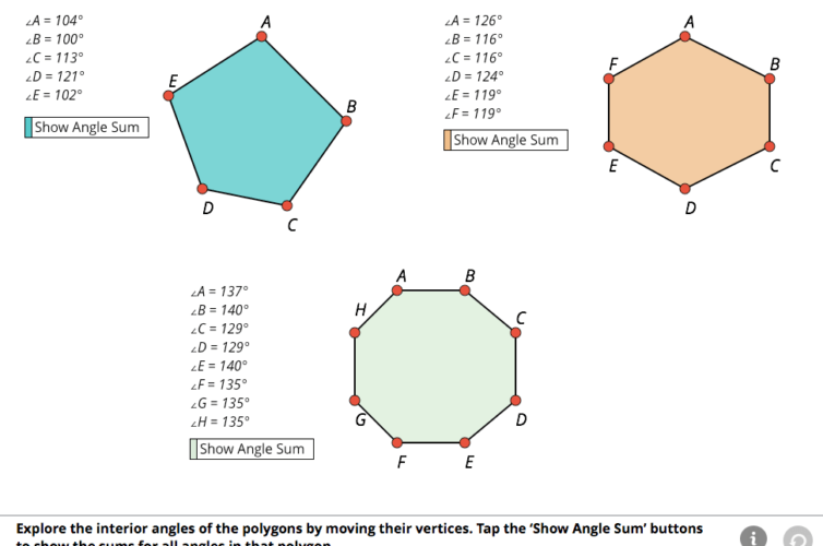 Institute for the Study of Knowledge Management in Education (ISKME): Math Interactives