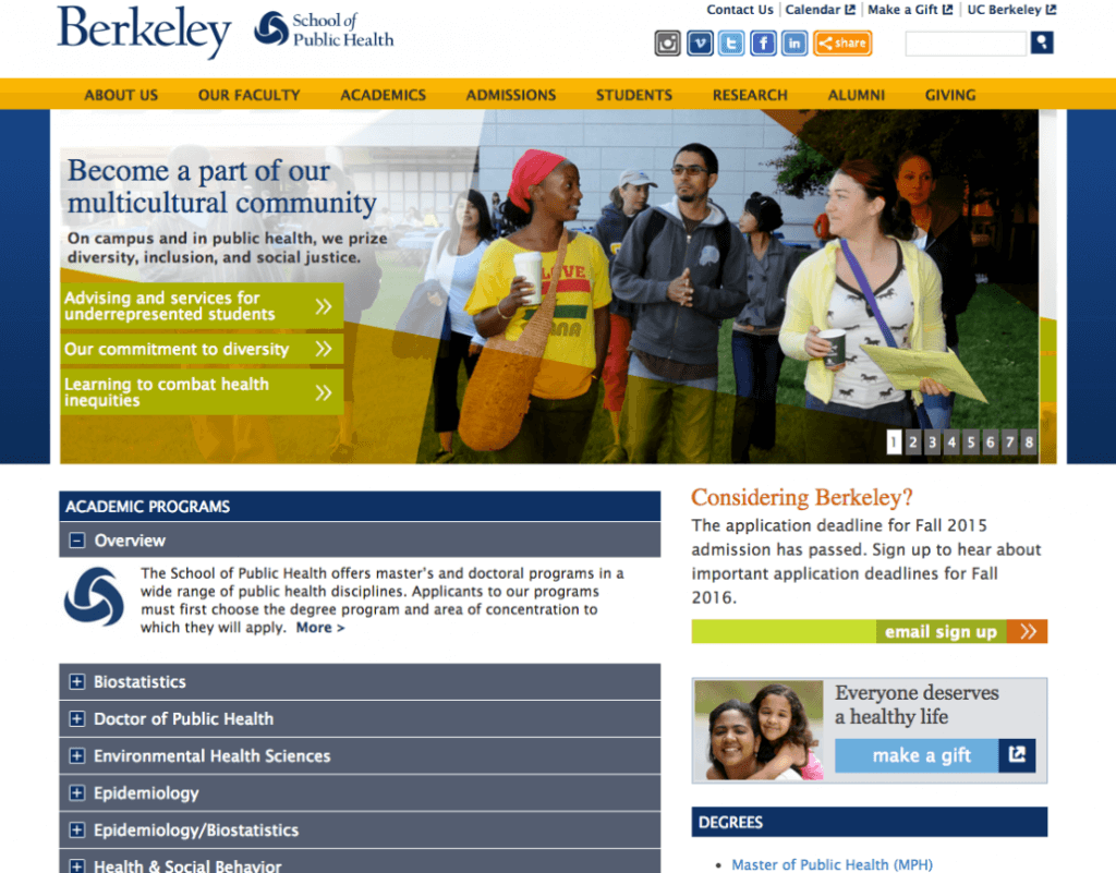 Berkeley School of Public Health
