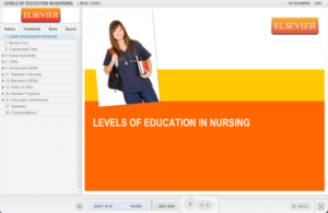 Levels of Education in Nursing