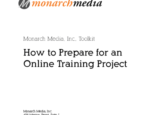 How to Prepare for an Online Training Project