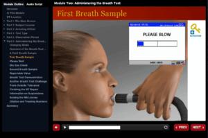 First Breath Sample