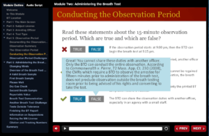 Conducting the Observation Period